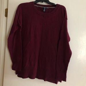 Simple long sleeve sweater
